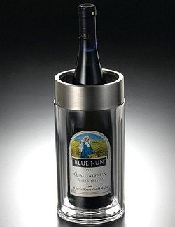 Sardinia Stainless Steel Trimmed Acrylic Wine Chiller