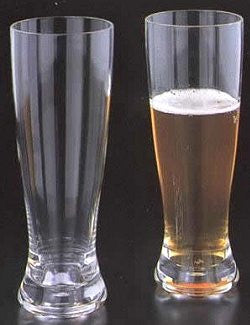 Super-Sized 22 Oz. Acrylic Pilsner Glasses Set