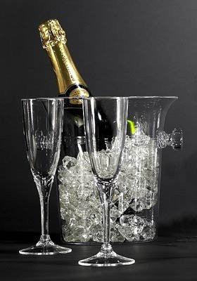 Classic Acrylic Champagne Flute Set - Nautical Luxuries