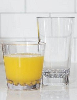 Ultra Durables Dishwasher-Safe Acrylic Tumblers