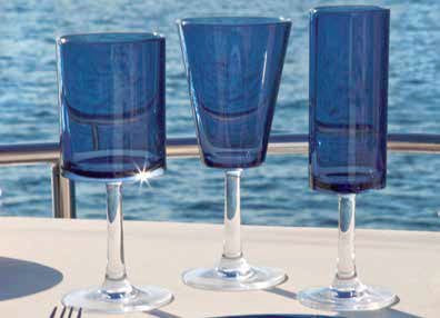 Euro Chic Nonbreakable Polycarbonate Glass Sets