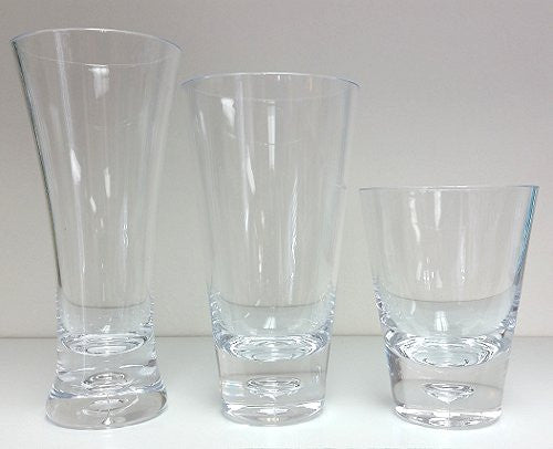 Clear Jewel Acrylic Glasses