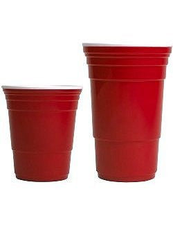 Sailor's Favorite Red Cup Hard Tumblers - Nautical Luxuries