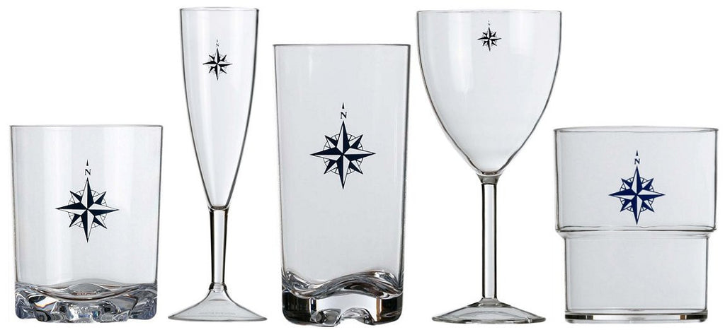 Northern Star Nonbreakable Polycarbonate Glasses
