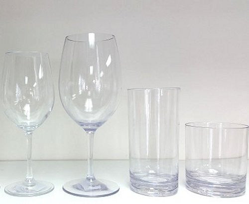 Non-Breakable Connoisseur Classics Glasses