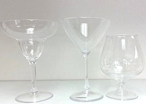 Non-Breakable Specialty Cocktail Glasses - Nautical Luxuries