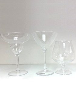 Non-Breakable Specialty Cocktail Glasses