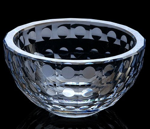 Acrylic Faceted Water Drops Serving Bowls - Nautical Luxuries