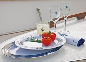 Northern Star Non-Breakable 2-Pc. Serving Platter Set - Nautical Luxuries