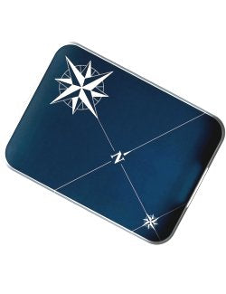 Northern Star Non-Breakable Rectangular Serving Tray - Nautical Luxuries