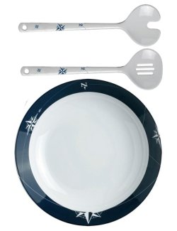 Northern Star Non-Breakable 3-Pc. Salad Set