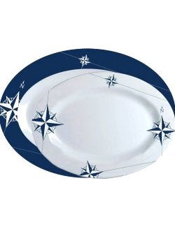Northern Star Non-Breakable 2-Pc. Serving Platter Set