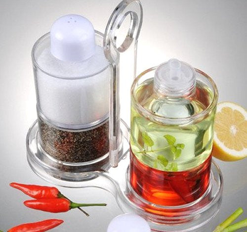 Nonbreakable Oil & Vinegar Salt & Pepper Set - Nautical Luxuries