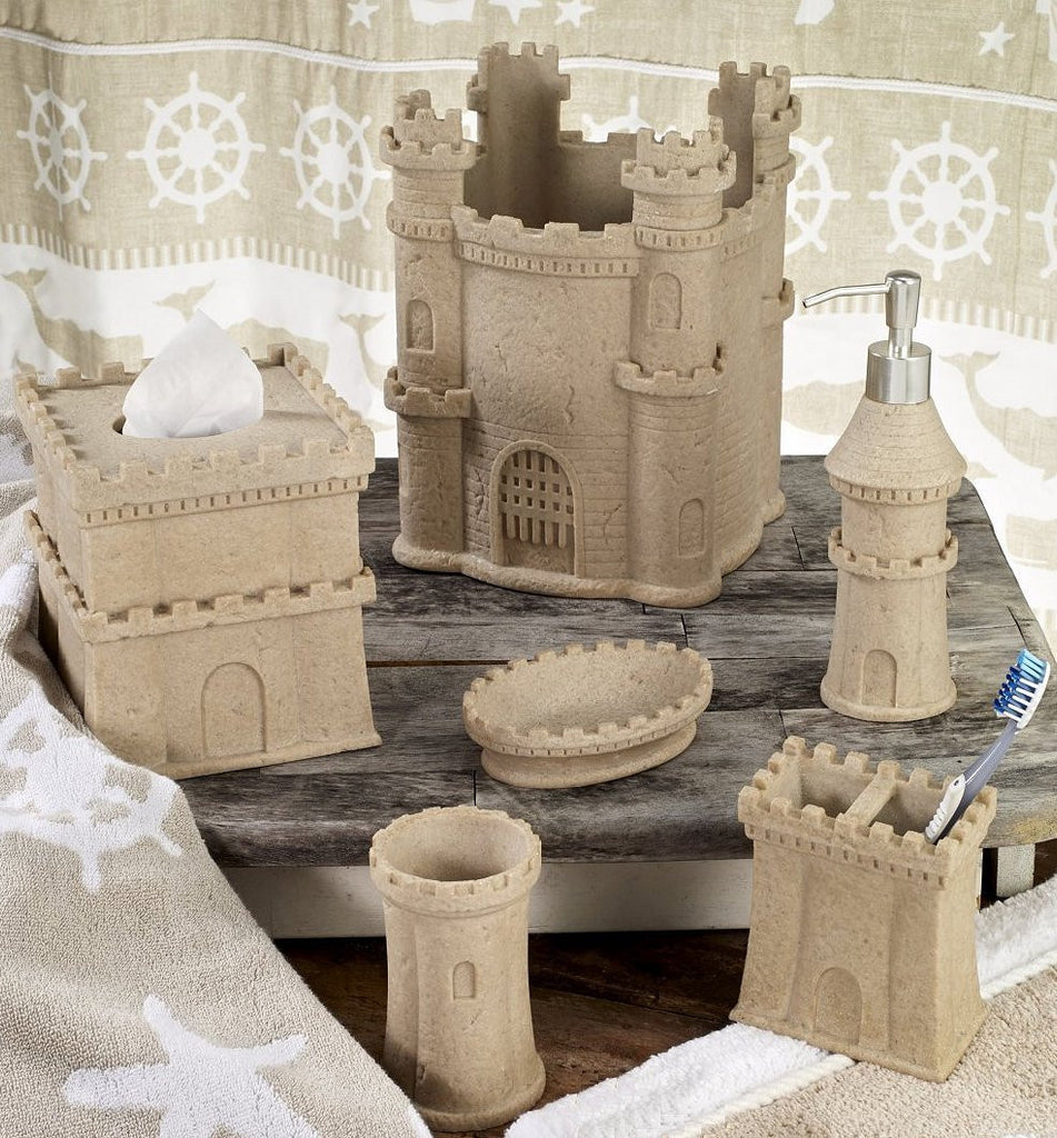 Sand Castle Dreams Bath Accessory Set