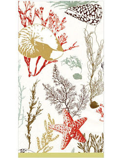 Luxury Disposables Guest Towels/Sea Life - Nautical Luxuries
