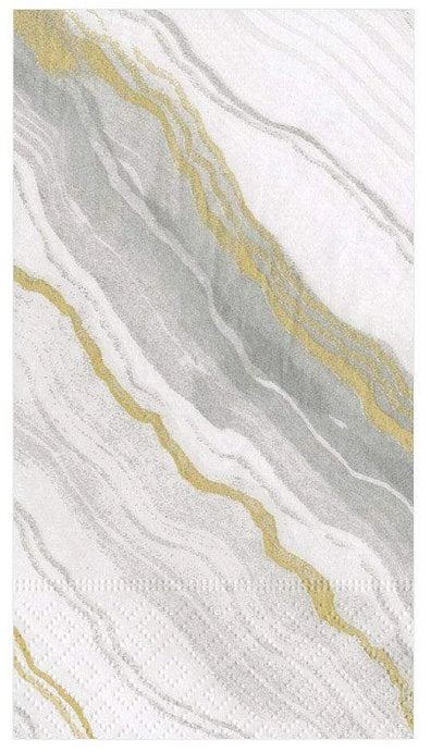 Luxury Disposables Guest Towels/Beach Marble - Nautical Luxuries