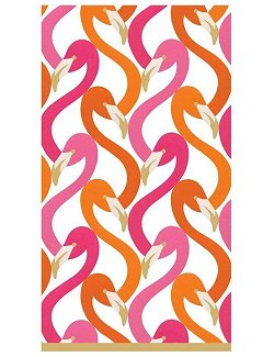 Luxury Disposables Guest Towels/Palm Beach Pink - Nautical Luxuries