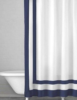 Nautical Classics Cotton Shower Curtain