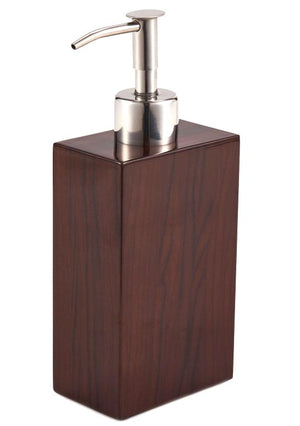 Yachtsman's Lacquered Wood Soap Pump & Dish - Nautical Luxuries