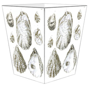Oyster Elegance Decoupage Bath Set - Nautical Luxuries