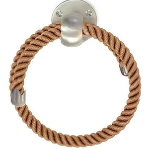 Nautiluxe Nautical Rope Towel Rings - Nautical Luxuries