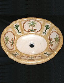 Royal Palm Coastal Sink - Nautical Luxuries