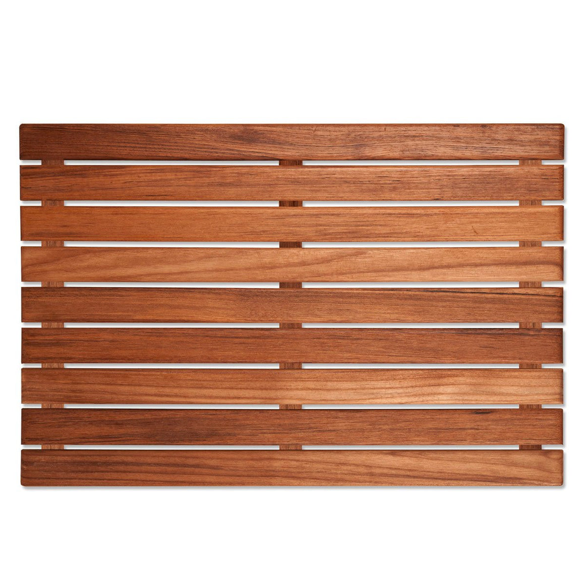 Classic Teak Slat Bath Mats - Nautical Luxuries