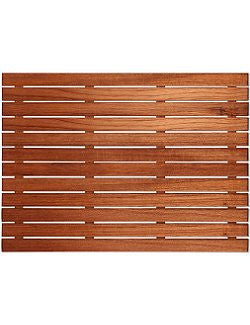 Teak Mini Travel Shower Mat Nautical Luxuries