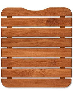 Teak Mini Travel Shower Mat - Nautical Luxuries