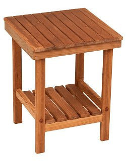 Teak Shower & Spa Mini-Bench - Nautical Luxuries