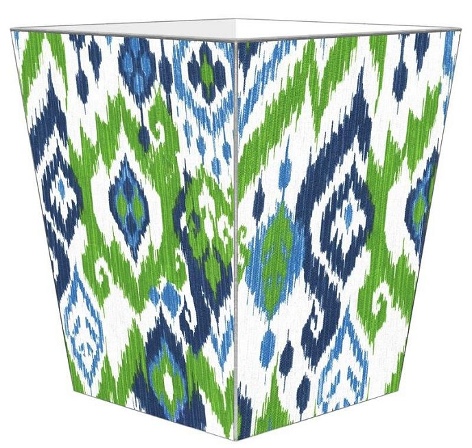 Beach House Ikat Decoupage Bath Sets