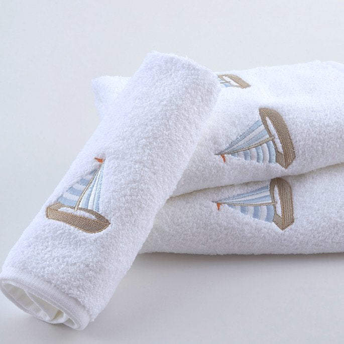 nautical sailboat towels