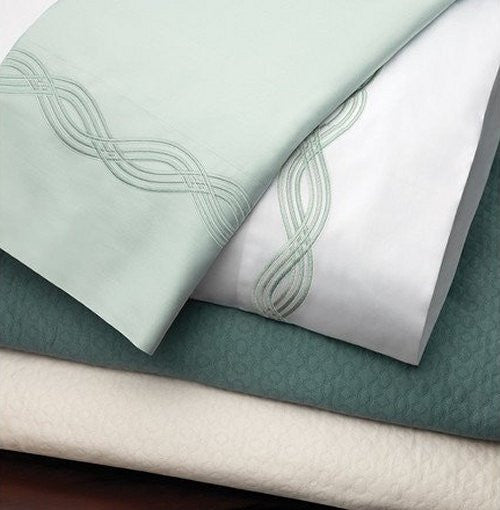 Ocean Waves Luxury Embroidered Bedding Sets