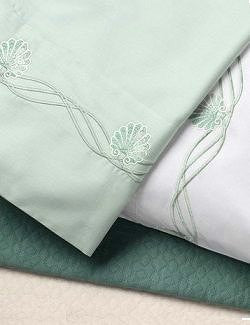 Venetian Shell Luxury Embroidered Bedding Sets - Nautical Luxuries