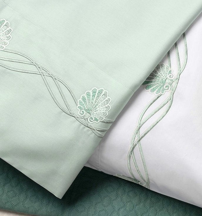 Venetian Shell Luxury Embroidered Bedding Sets
