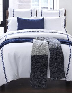 Indigo Angles Luxury Bedding Collection