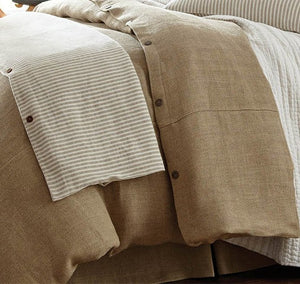 Hamptons Bungalow Naturals Bedding Collection - Nautical Luxuries