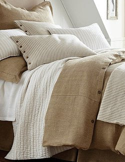 natural linen cotton luxury bedding