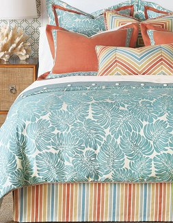 Coral Splash Bedding Collection - Nautical Luxuries