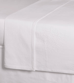 White Coral Beach House Matelassé Bedding - Nautical Luxuries