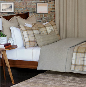 Sandman's Rustic Plaid Beach House Bedding - Nautical Luxuries