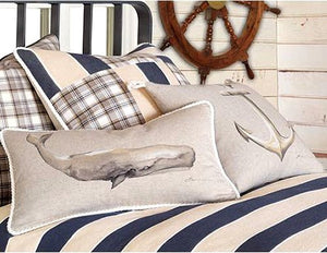 Bosun's Stripe Bedding Collection - Nautical Luxuries