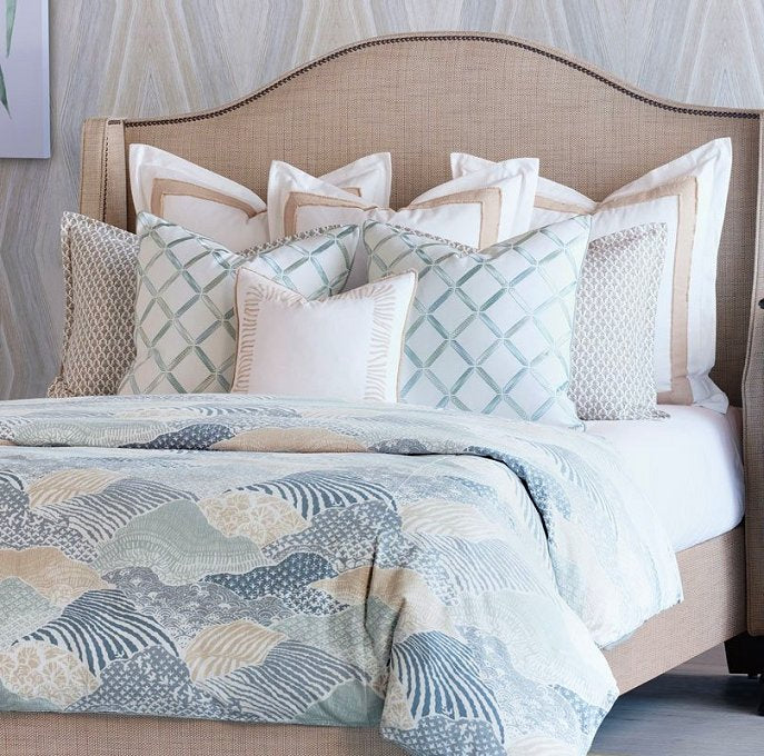 luxury coastal bedding