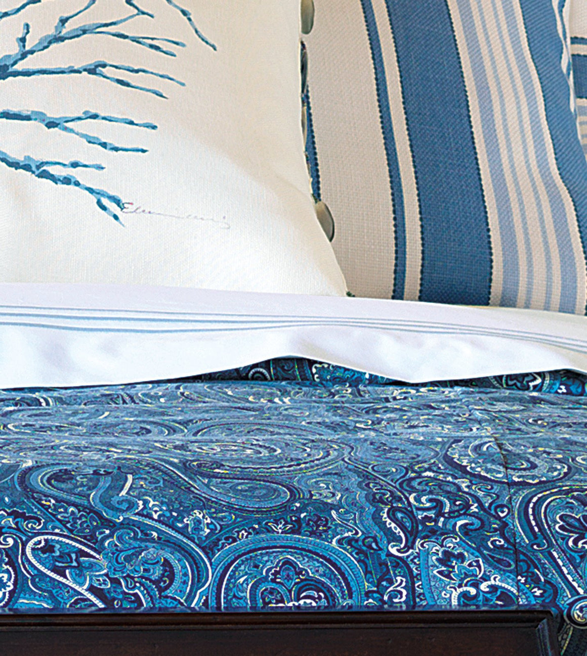 Nantucket Blues Luxury Bedding Collection - Nautical Luxuries
