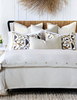 Cape Cod Geometrics Luxury Bedding - Nautical Luxuries