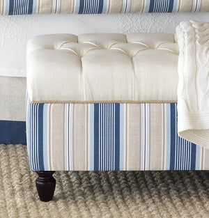 Beach Cottage Stripe Bedding Collection - Nautical Luxuries