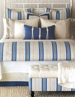 Beach Cottage Stripe Bedding Collection