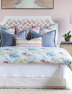 Reef Life Coastal Bedding Collection - Nautical Luxuries