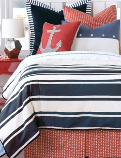 Newport Regatta Bedding Collection - Nautical Luxuries