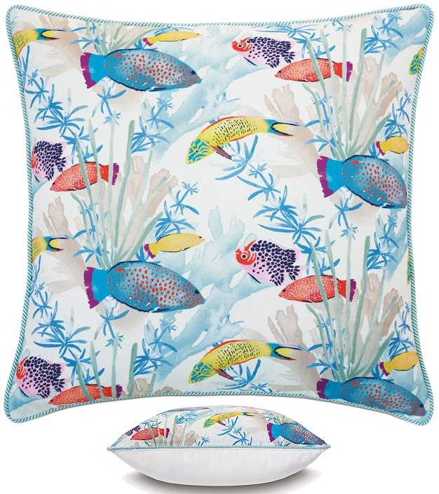 Reef Life Coastal Bedding Collection